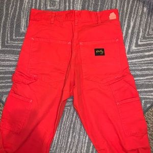 STAN RAY OG PAINTER PANTS RED